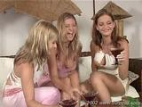 lesbian - dana, monica and sandra