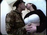 busty russian fucked by a soldier