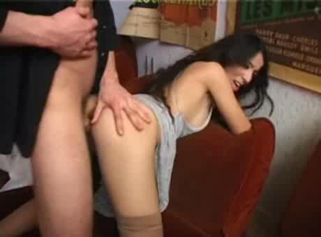 Brunette Paula Fucked