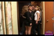 teen two girls and two guys - hard group  sex
