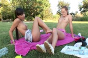 lesbian babes denisa heaven and stacy da silva