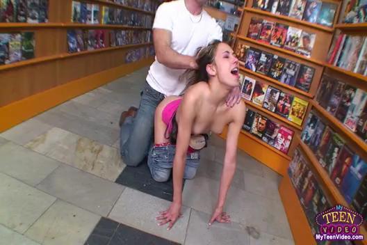 Sabrina Teen Girl Hard Fucked