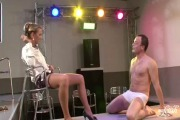 Lexxis Brown - Club Owner Demands a Strip Show