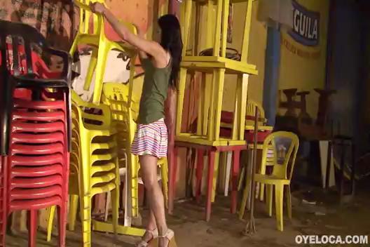 Latina Karen Tovar  fucked