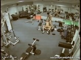 Security Cam In The Gym Filmin