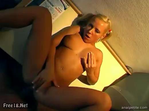 Sweet Blonde Girl Bibi - Anal Fucked