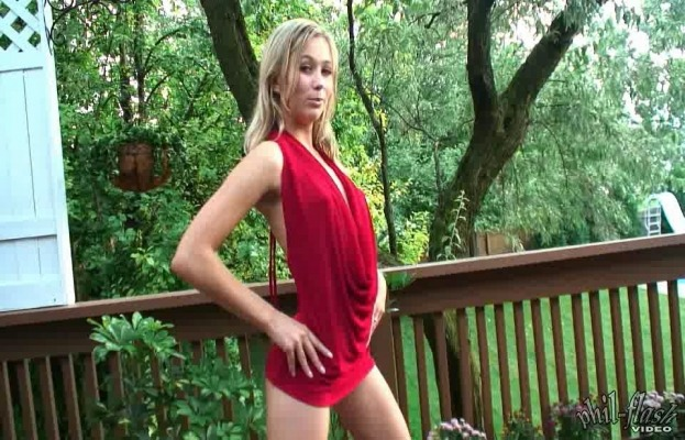 Teen Kasia - Red Dress