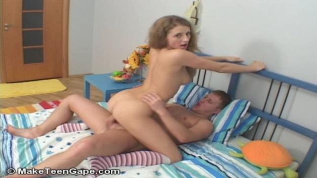 Redhead Russian Teen Girl Nina Fucked