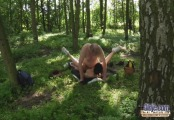 oldman - teen girl hot picnic meal