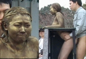 public sex japan shamefully exposed on the street