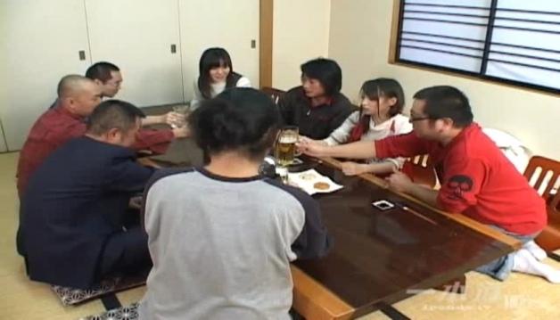 Japanese - Riku Shiina - Gangbanged