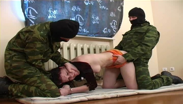 Soldiers Raped Girl - Fantasy - HardSex