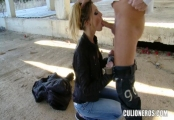 nataly von - russian beauty gets fucked in public