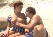 Sexy girls fucked on beach