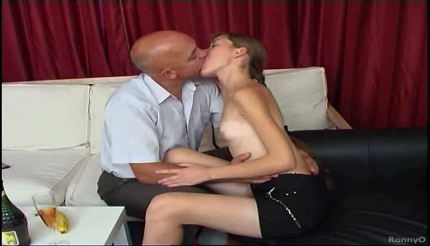 Skinny Russian girl Hard Fucked