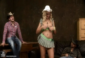 chary kiss - cowgirl - dp