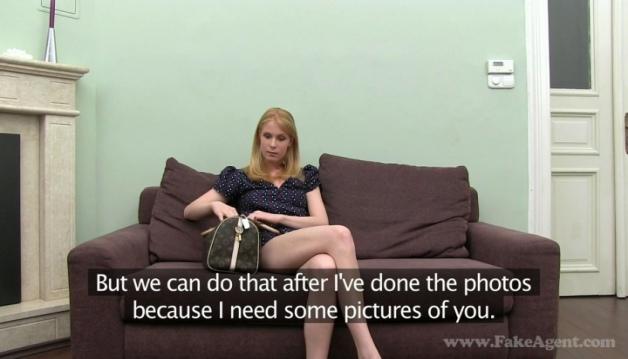 Klara - Casting, Blonde