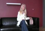 alana - skinny blonde, casting
