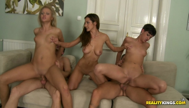 Sex Parties - Sabby, Alice Romain, Coco Demal