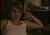 Petite shorthaired girl in homemade lesbian