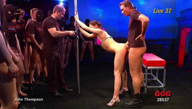 German Casting - Bukkake, Gag, video4