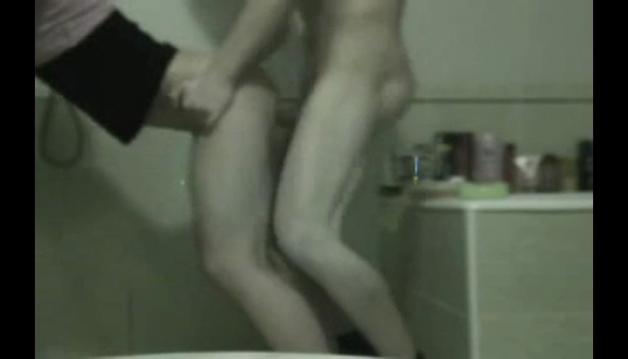 GF bathroom fuck with boyfriend
