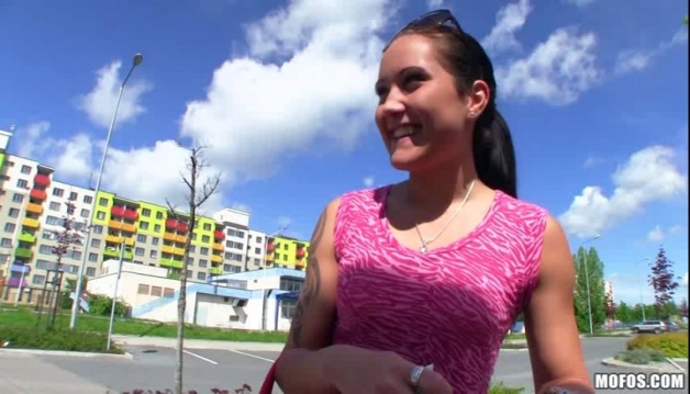Public Pick Ups - Agata - Working Out Her