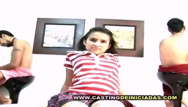 dirty tiny latina on casting