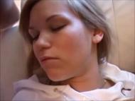 petite 18yo blonde, sleeping