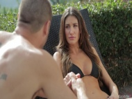 august ames, hot girl