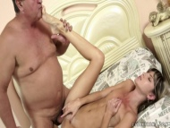 little doris fucked by mature guy