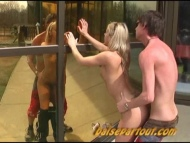 public in street teen, video 4