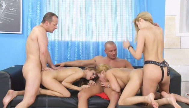Cathy Heaven, Blanche, Leyla Black, Group