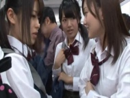 asian slut, school girl sex in train