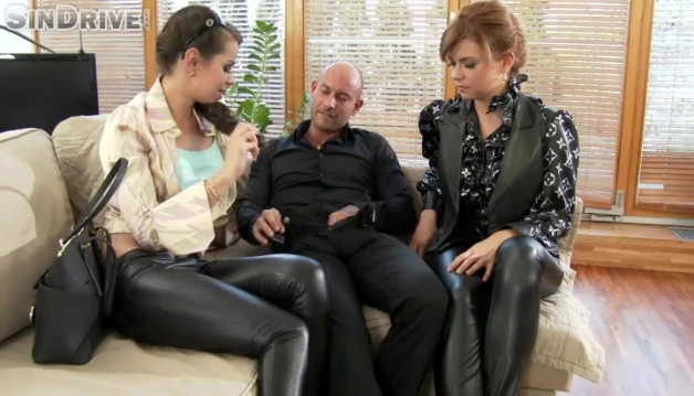 Ferrera Gomez, Marina Visconti, Threesome