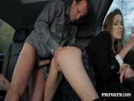 alexis crystal, hard sex in the car