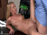 hot sexy blonde, video 6