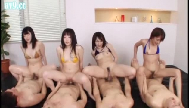 Asian Girls, Group Sex, Video18