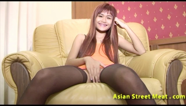 Asian sluts, Red head