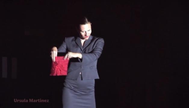 Ursula Martinez - Magic Striptease