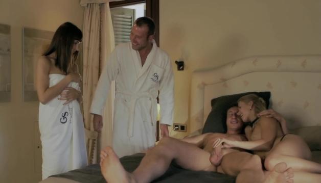 Carol Vega, Violette Pink, Group Sex
