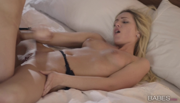 Charming Blonde Getting Fucked Hard