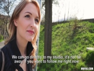 publicpickups - belle claire czech hotties got per