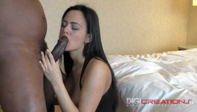 Charlotte Shark - Euro Teen First Time Black Cock