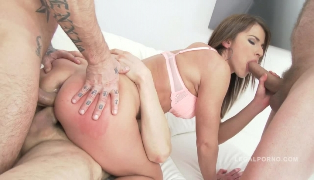Paola - 3 on 1, Anal sex, DP