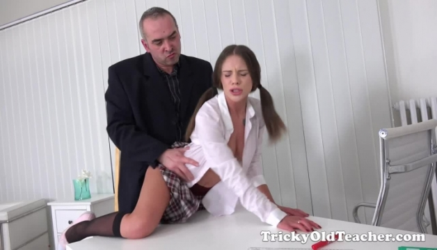 Teacher teaches Lita Phoenix a naughty lesson