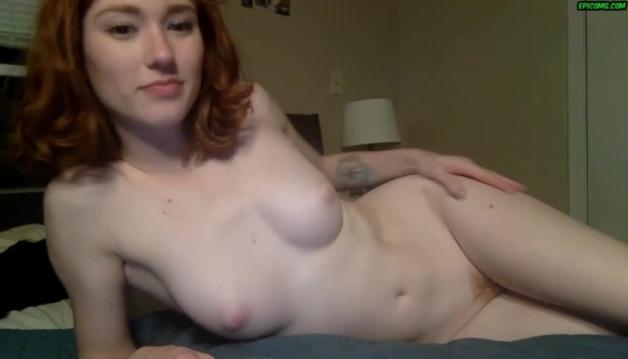 Fantastic amateur ginger Dakota Fucked in front of camera