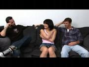 Teen slut Ellie Idol fucks for money