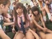 asian schoolgirls fucked on bus