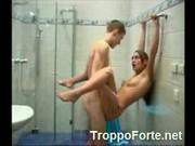 Fucking my girlfriend in the shower